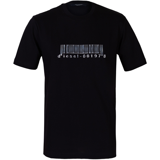 T-Just-Splits X85 Barcode T-Shirt-new online-Fifth Avenue Menswear
