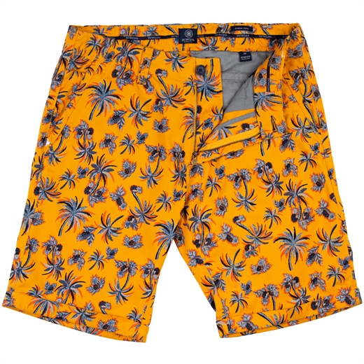 Wayne Pineapple Print Cotton Shorts-new online-Fifth Avenue Menswear
