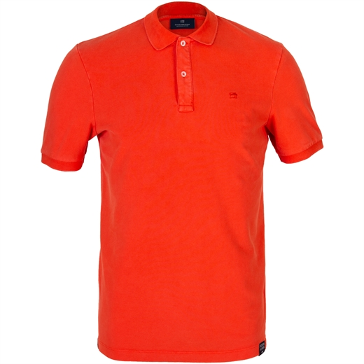 Garment Dyed Pique Polo-t-shirts & polos-Fifth Avenue Menswear