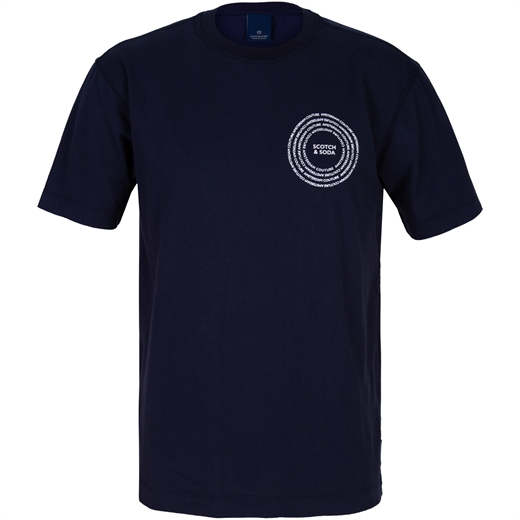 Organic Cotton T-Shirt-t-shirts & polos-Fifth Avenue Menswear