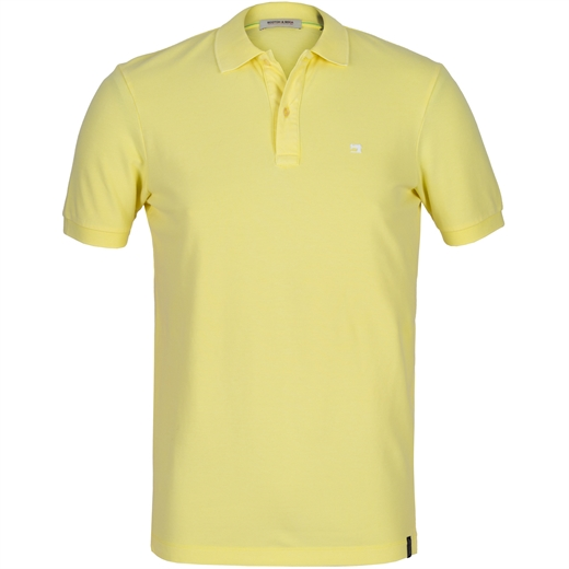Garment Dyed Stretch Cotton Pique Polo-holiday-Fifth Avenue Menswear