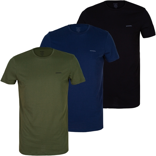 Jake 3 Pack Of Cotton T-Shirts-new online-Fifth Avenue Menswear