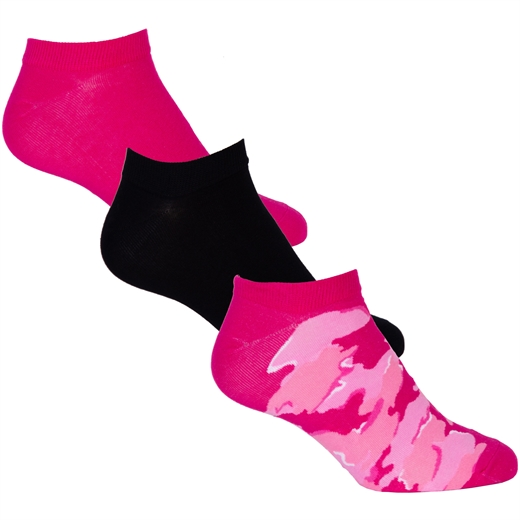 Gost 3 Pack Camo Print Ankle Socks-new online-Fifth Avenue Menswear