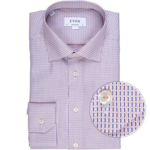 Contemporary Fit Luxury Cotton Dress Shirt-new online-Fifth Avenue Menswear
