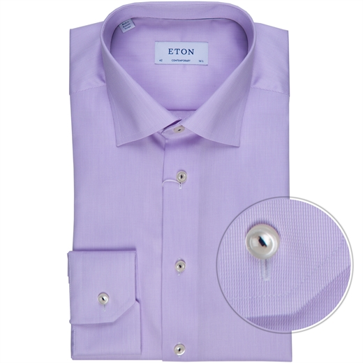 Contemporary Fit Luxury Micro Stripe Dress Shirt-new online-Fifth Avenue Menswear