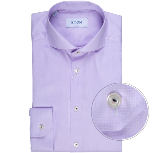 Super Slim Fit Luxury Micro Stripe Dress Shirt-new online-Fifth Avenue Menswear