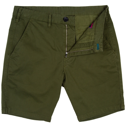 Standard Fit Pima Stretch Cotton Shorts-new online-Fifth Avenue Menswear