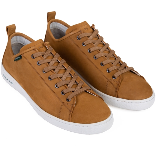 Tan Miyata Nubuck Sneakers-new online-Fifth Avenue Menswear