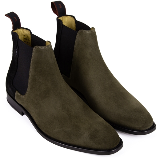 Gerald Two-Tone Suede Chelsea Boots-new online-Fifth Avenue Menswear