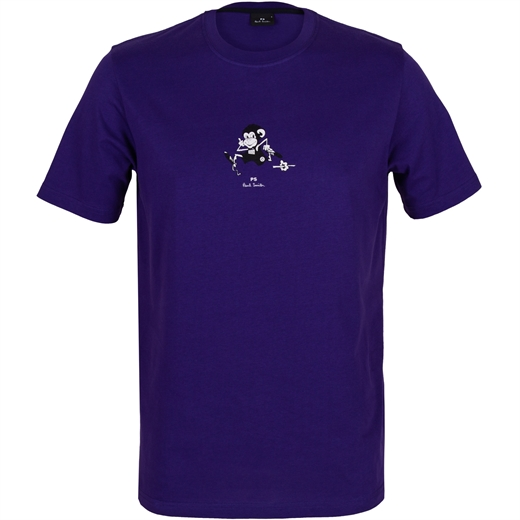 Running Monkey Print T-Shirt-new online-Fifth Avenue Menswear