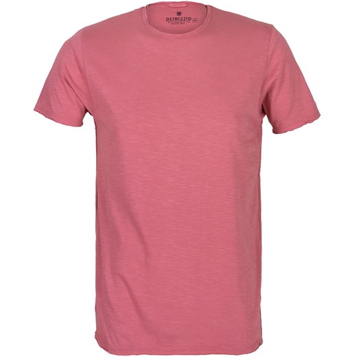 Slim Fit McQueen Slub Crew Neck T-Shirt-new online-Fifth Avenue Menswear
