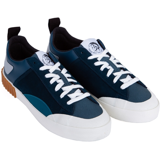 S-Bully Suede & Leather Sneaker-new online-Fifth Avenue Menswear
