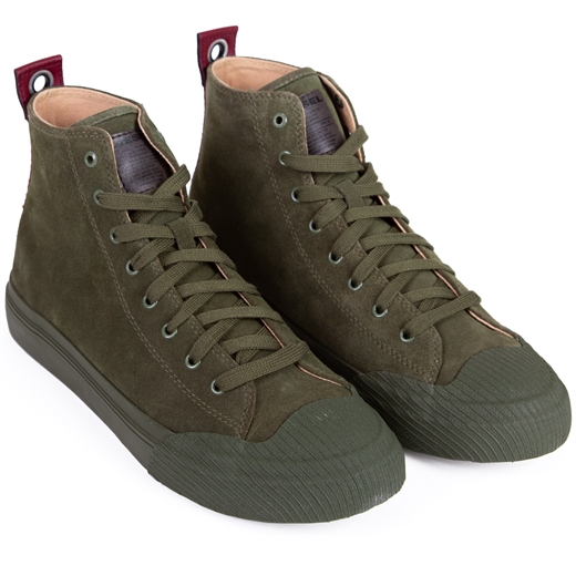 Astico Hi-Top Suede Sneaker Boot-new online-Fifth Avenue Menswear