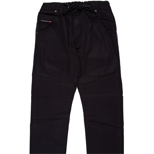 Krooley-E-Ne Black Jogg Jean-new online-Fifth Avenue Menswear