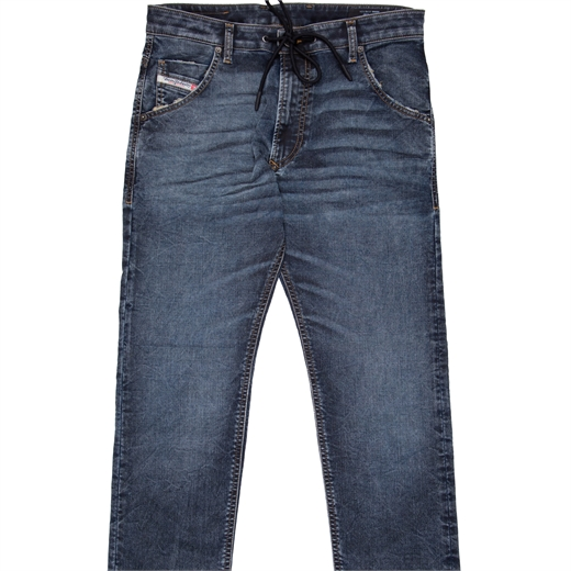 Krooly-Y-Ne Aged Wash Jogg Jean-new online-Fifth Avenue Menswear