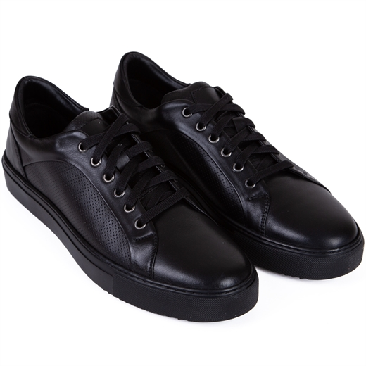 Bryant Embossed Leather Sneakers-new online-Fifth Avenue Menswear