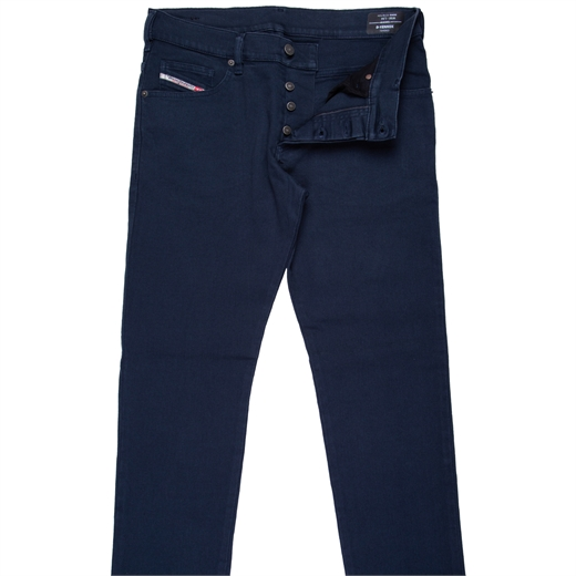 D-Yennox Taper Fit Coloured Stretch Denim Jeans-new online-Fifth Avenue Menswear