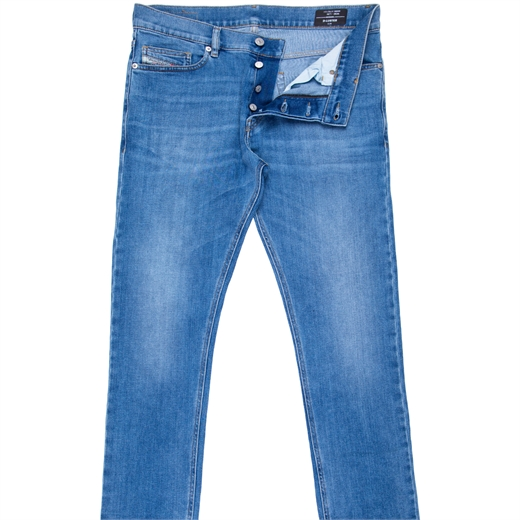 D-Luster Slim Fit Light Wash Stretch Denim Jeans-new online-Fifth Avenue Menswear