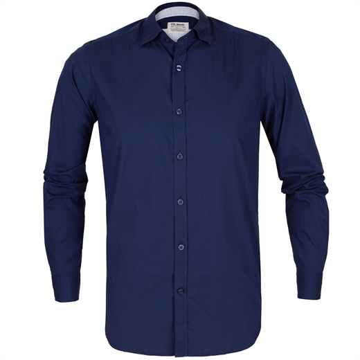 Roma Soft Stretch Cotton Casual Shirt-new online-Fifth Avenue Menswear