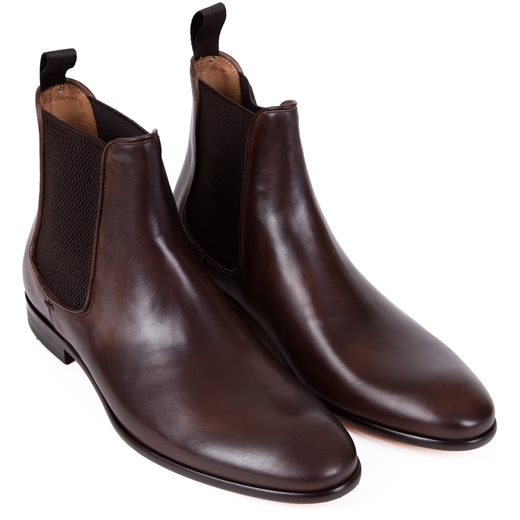 Vinny Anticato Leather Chelsea Boots-new online-Fifth Avenue Menswear