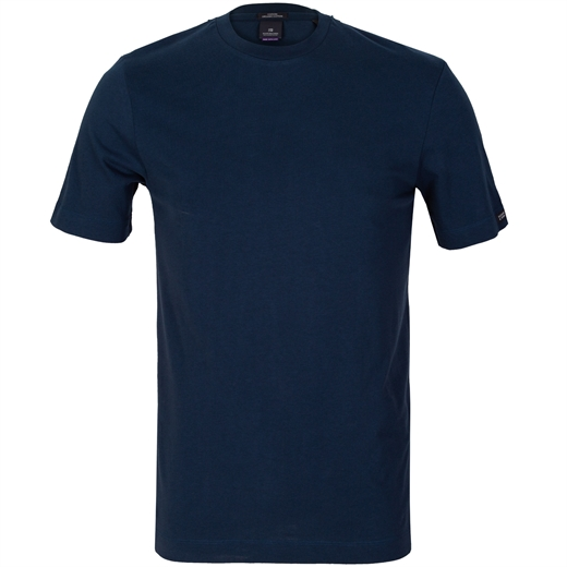 Organic Cotton Crew Neck T-Shirt-new online-Fifth Avenue Menswear