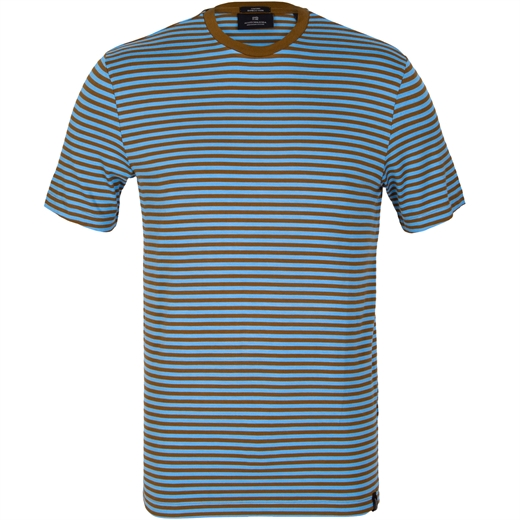 Stretch Bamboo-Blend Stripe T-Shirt-new online-Fifth Avenue Menswear