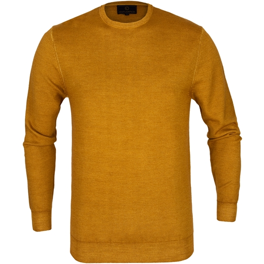Dylan Garment Dyed Crew Neck Merino Pullover-new online-Fifth Avenue Menswear
