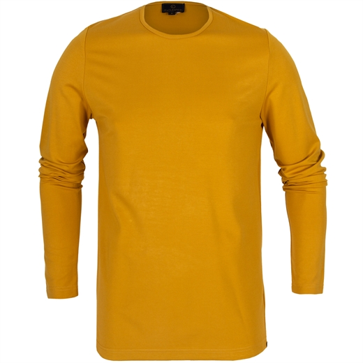 Hugh Stretch Ponti Jersey Long Sleeve T-Shirt-new online-Fifth Avenue Menswear