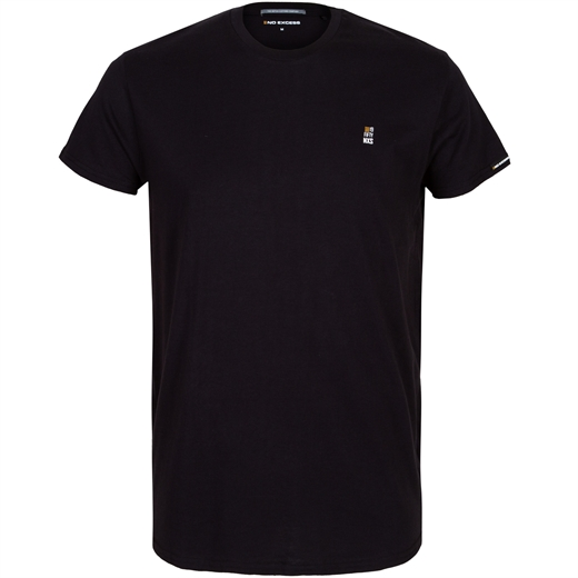 Slim Fit Crew Neck T-Shirt With Chest Logo-new online-Fifth Avenue Menswear