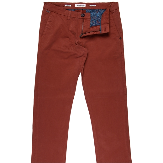 Garment Dyed Stretch Cotton Chino-new online-Fifth Avenue Menswear