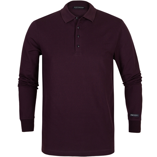Long Sleeve Pique Polo-new online-Fifth Avenue Menswear