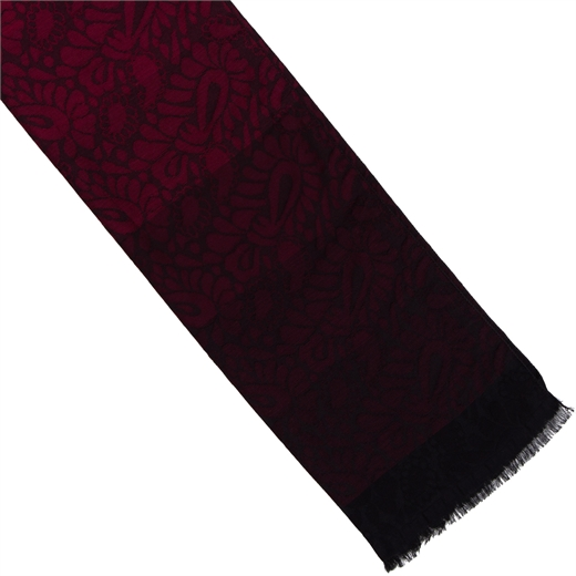 Paisley Flora Cotton Blend Scarf-new online-Fifth Avenue Menswear