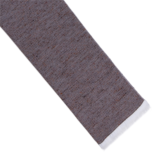 Tonal Textured Weave Cotton Blend Scarf-new online-Fifth Avenue Menswear