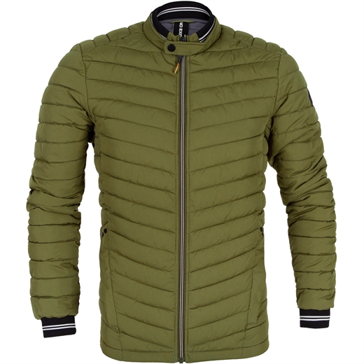Padded Zip-Up Casual Jacket-new online-Fifth Avenue Menswear