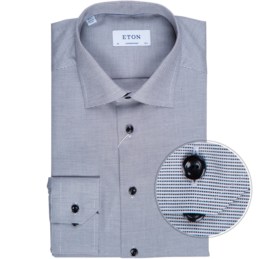 Contemporary Fit Micro Weave Twill Dress Shirt-new online-Fifth Avenue Menswear