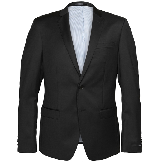 Lithium Black Dress Suit Jacket-jackets-Fifth Avenue Menswear