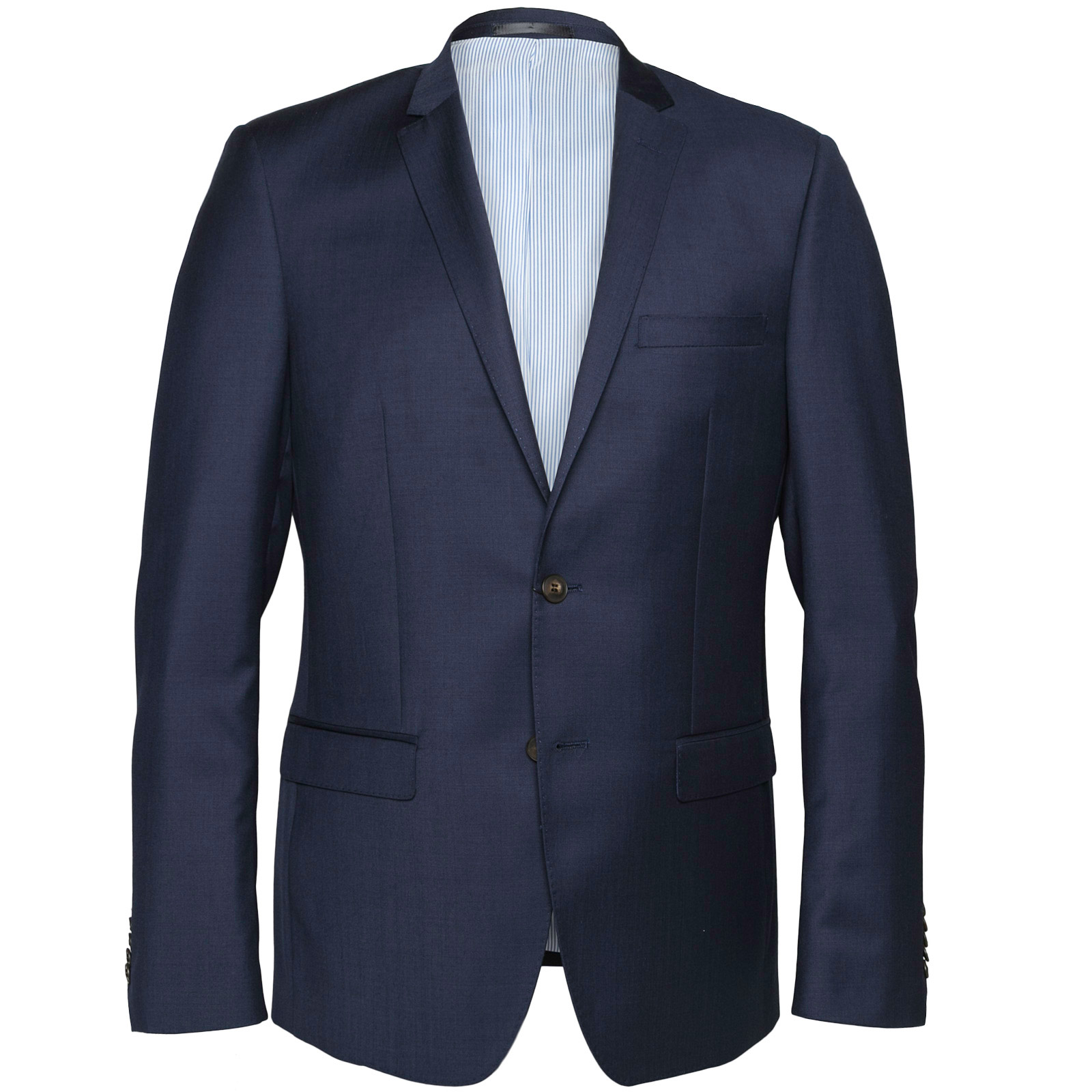 Delerium Navy Blue Suit Jacket - GIBSON : Jackets-Dress : Fifth ...