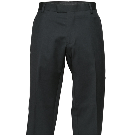 Razor Plain Wool Suit Trouser-trousers-Fifth Avenue Menswear
