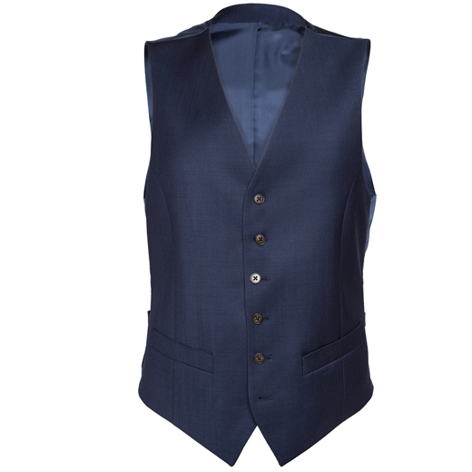 Mighty Navy Blue Waistcoat-suits-Fifth Avenue Menswear