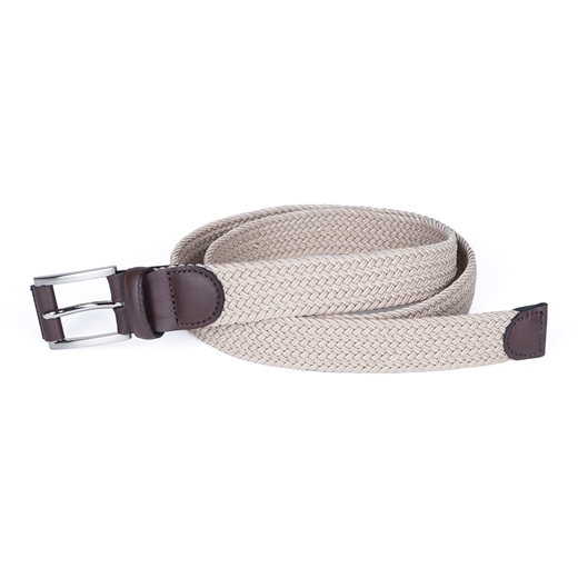 Braided Stretch Webbing Belt-accessories-Fifth Avenue Menswear